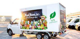 Erstes skandinavisches Elektro-Heimlieferdienst-Kühlfahrzeug rollt auf eCab
