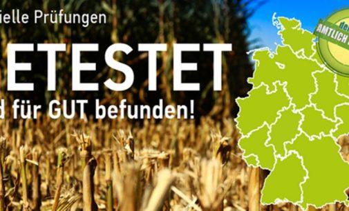 Offizielle Prüfungen GETESTET und für GUT befunden! EURALIS Saaten GmbH