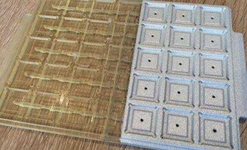 Metallische Beschichtung von 3D-Bauteile