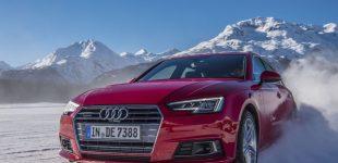 Fahrspaß auf Eis und Schnee in Andermatt