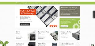 Relaunch:  B2B Onlineshop für Server, Workstations & PC
