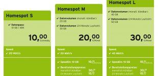 congstar Homespot jetzt mit bis zu 100 Euro Startguthaben