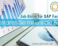 PROVAT Spezialgebiet  – Vermittlung von SAP-Fachkräften