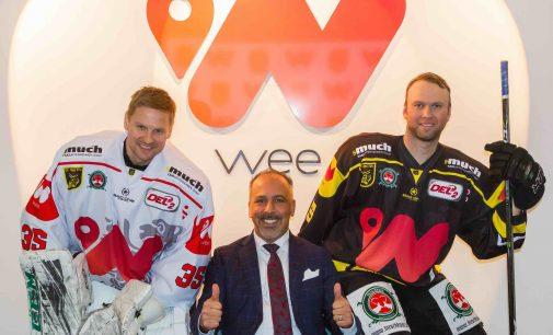 Investitionen in globales Pilotprojekt weeArena Bad Tölz und DEL2-Team