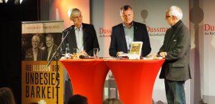 Andreas Krebs und Paul Williams präsentieren Spitzentitel im KulturKaufhaus Dussmann in Berlin