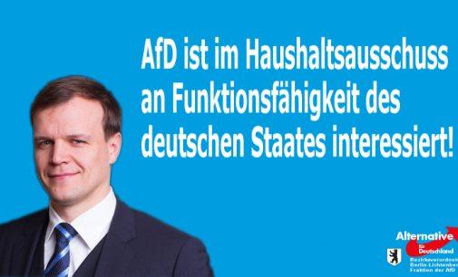 AfD greift nach dem Vorsitz im wichtigen Haushaltsausschuss