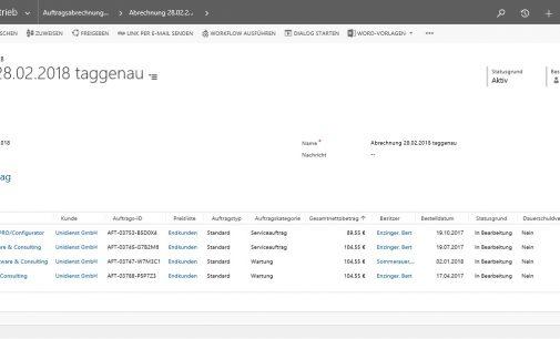 Auftragsabwicklung und Faktura mit UniPRO/Software & Consulting