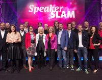 1. Internationaler Speaker Slam München: Hermann Scherer plant Weltrekord