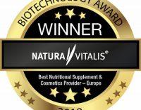 Weiterer Award für Natura Vitalis: Führend in ganz Europa