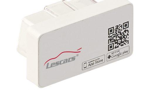 Lescars OBD2-Profi-Adapter über App für Android & iOS
