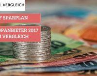 ETF SPARPLAN – DIE TOP ANBIETER 2017 IM VERGLEICH