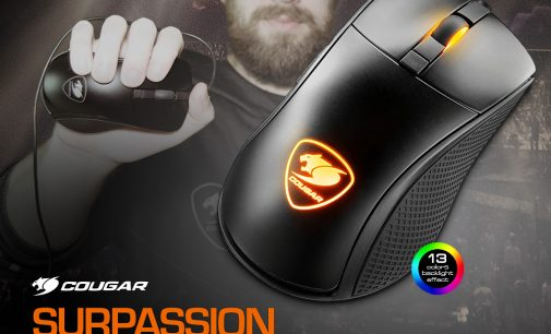 NEU bei Caseking – Die Cougar Surpassion Gaming-Maus mit dem entscheidenden Vorteil.