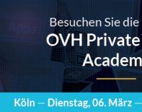Cloud Praxis-Workshop am Rhein: 1. OVH Academy 2018 in Köln