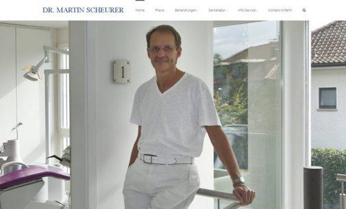 Zahnarzt Dr. Scheurer geht online