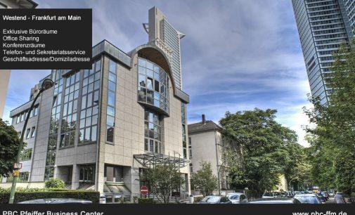 Moderne Büroräume in Frankfurt Westend
