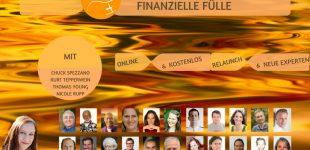 Visionskongress Finanzielle Fülle – Lebe finanzielle Fülle – kostenloser Online Kongress 8.bis 17. März 2018