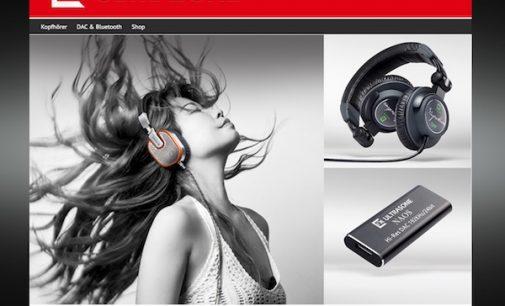 ULTRASONE präsentiert neue Website mit hochwertigem Look, bequemer Navigation und komfortablem Shop