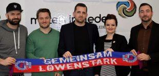 """""""Gemeinsam Löwenstark"""" – Der Bonner Sport-Club 01/04 e.V. startet gemeinsam mit kreativrudel ein Leuchtturm Projekt im Bereich Werbung und Marketing"""