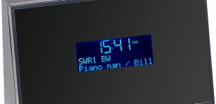 Digitaler DAB+/FM-Tuner zum Aufrüsten von HiFi-Anlagen DOR-270 mit Radiowecker