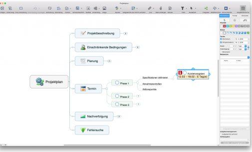 MindManager 11 für Mac kommt auf den Markt