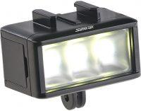 Unterwasser-LED-Licht für Action-Cams FVL-360.uw, 360 lm, 3 W, 900 mAh-Akku, IPX8