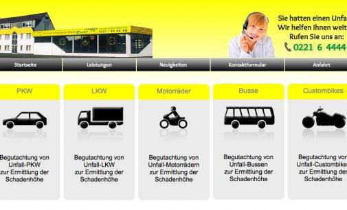KFZ-Gutachten bei einem Unfall – Köln und Umgebung