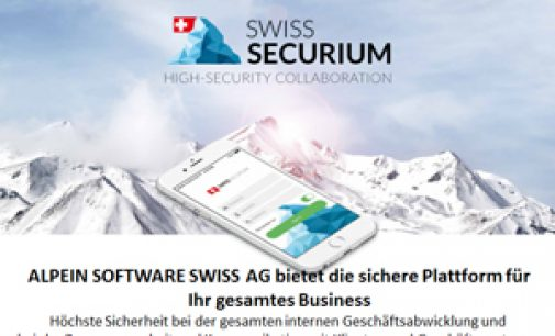 Sicheres Business mit SWISS SECURIUM