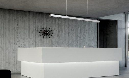 Neuheit auf der Light & Building: LED-Spezialist LEDAXO präsentiert blendfreie Pendelleuchten UGR kleiner als 10 für besonders blendsensible Arbeitsbereiche