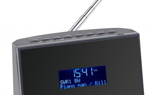 VR-Radio Digitaler DAB+/FM-Tuner DOR-270 mit Radiowecker