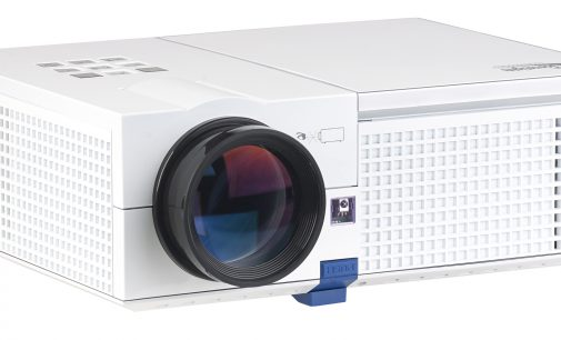 SceneLights LED-LCD-Beamer LB-9200 mit Media-Player