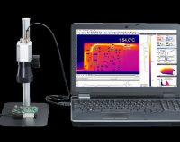 Mikroskopoptik für die Inspektion von Leiterplatten