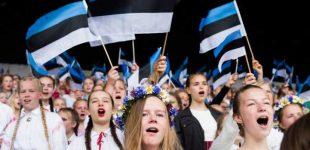 Estland feiert die Freiheit!
