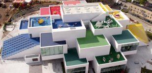 "Glapor dämmt ""Lego-House"" in Dänemark"