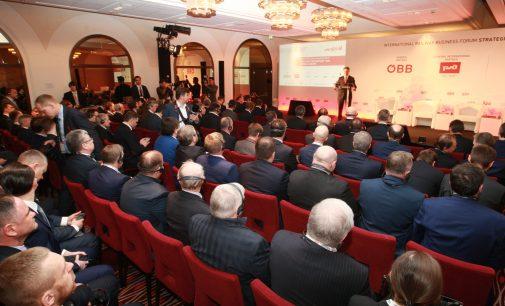 """Internationales Eisenbahnforum """"Strategic Partnership 1520: Central Europe"""" in Wien eröffnet"""