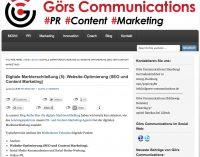 Blog Serie Digitale Markterschließung (5): Website Optimierung (SEO und Content Marketing)