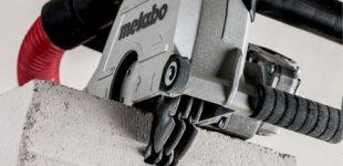 Metabo: Spart bis zu 50 Prozent Arbeitszeit – die neue Mauernutfräse von Metabo
