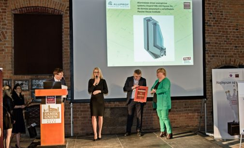 """ALUPROF ist Preisträger im Bereich der """"innovativen Holzverarbeitungslösungen"""""""