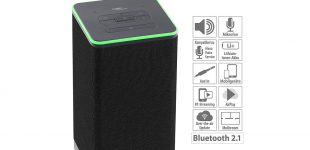 auvisio WLAN-Multiroom-Stereo-Lautsprecher QAS-400