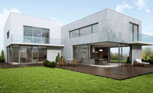 Schiebetüren aus Aluminium mit Panoramaverglasung