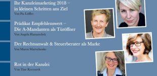 Neue Ausgabe des eMagazins kanzleimarketing.de erschienen