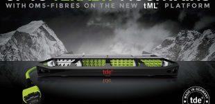 Für Highspeed gerüstet: OM5 an Bord der tde Plug-and-play-Plattformen