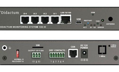 Schranküberwachung mit Rack Monitoring System von Didactum