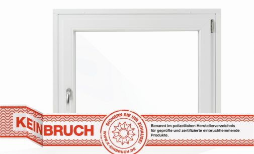 Käuferle-Fenster besonders sicher