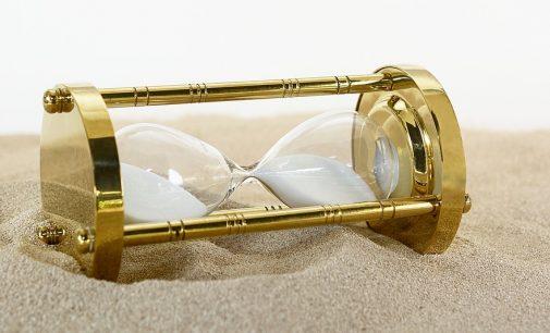 Wenn die Zeit scheinbar angehalten wird