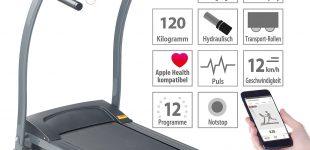 newgen medicals Profi-Laufband LF-300.premium mit App