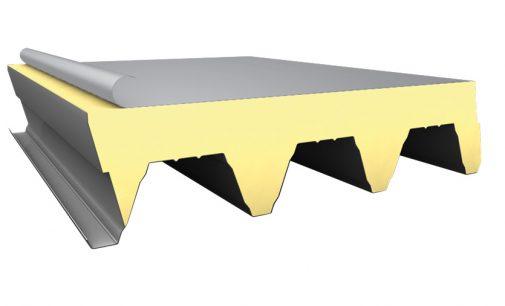 Besser gedacht: Flachdachsystem Hoesch isodach TRX 135