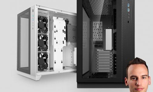 """BRANDNEU bei Caseking – Lian Li & Roman """"der8auer"""" Hartung präsentieren den PC-O11 Dynamic Midi-Tower."""