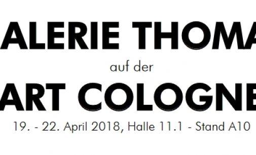 GALERIE THOMAS auf der ART COLOGNE 2018