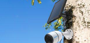 4G LTE-Sicherheitskamera mit Akku-/Solarbetrieb: Reolink Go landet auf Indiegogo