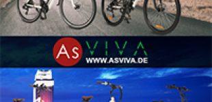 Neue E-Bike Modelle bei AsVIVA – E-Mountainbike, E-Hollandrad und E-Citybike